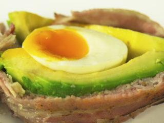 Egg-Stuffed Avocado -