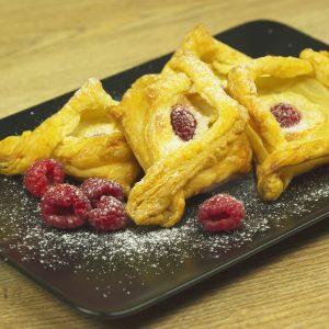 Raspberry and Cream Cheese Pastries -