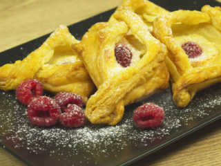 Raspberry and Cream Cheese Pastries -