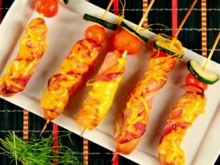 Hot Dog on a Stick -