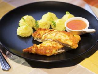 Parmesan-Crusted Turkey Cutlet -