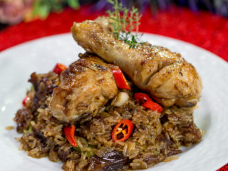 Chicken with Sweet and Spicy Rice -