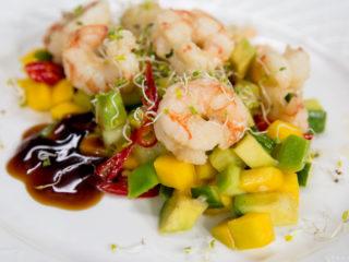 Mango Avocado Shrimp Salad -