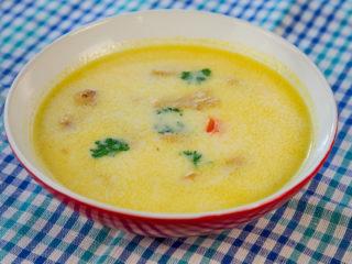 Soya Chunks Soup -