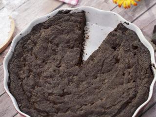 Easy-to-Make Chocolate Brownie Cake -