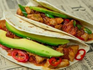 Pork Tacos -