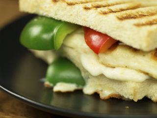 Grilled Halloumi Sandwich -