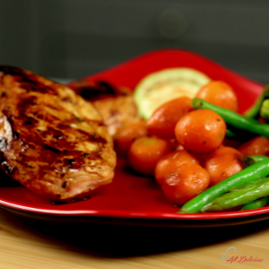 Ginger and Soy Sauce Marinated Chicken -