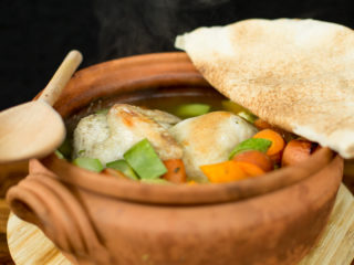 Clay Pot Chicken and Veggies -