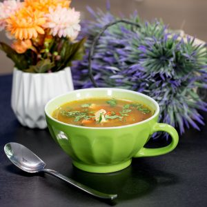 Miso Soup with Tofu and Cabbage -