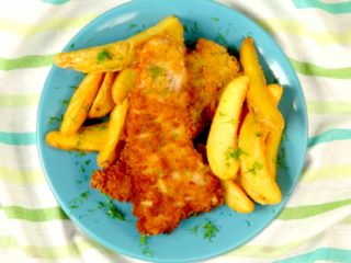 Panko-Crusted Pork Chops -