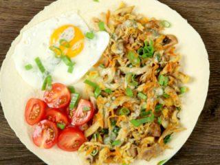Veggie and Chicken Tortilla -
