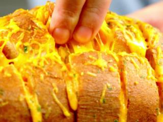 Ham and Cheese Stuffed Loaf -