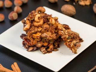 Crunchy Caramel Nut Bar -