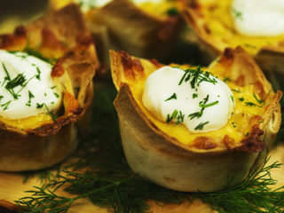 Chicken Tortilla Cups -