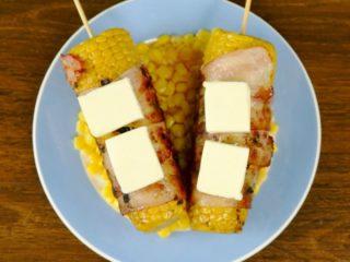 Bacon-Wrapped Corn -