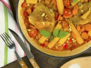 Chicken and Veggie Stew -
