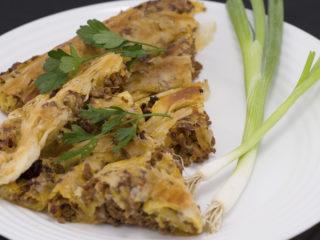 Beef Maznik Pie -