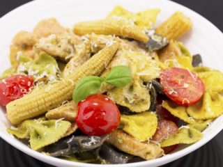 Farfalle with Chicken -