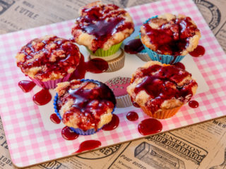 Raspberry Muffins -