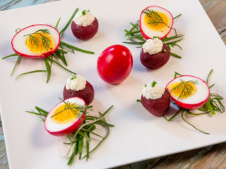 Pickled Red Beet Eggs -