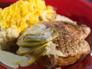 Pork Fillet with Creamy Cauliflower -