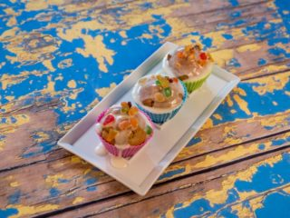 Sugar-Glazed Pumpkin Muffins