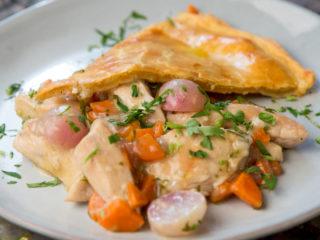 Chicken and Veggie Pie -