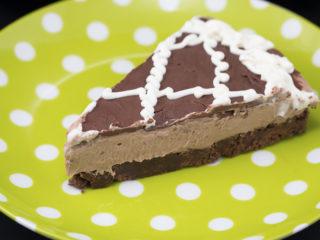 Black and White Chocolate Cheesecake -