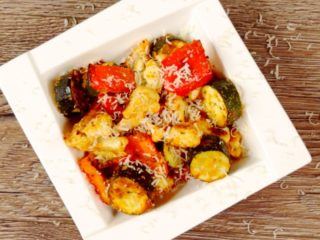 Cauliflower and Zucchini Crunchy Bites -