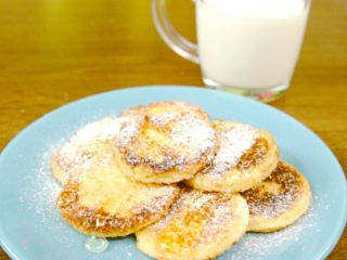 Sweet Fried Bread for Breakfast -