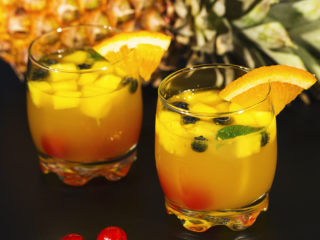 Rum and Pineapple Cocktail -