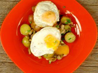 Mushroom and Baby Potato Side -