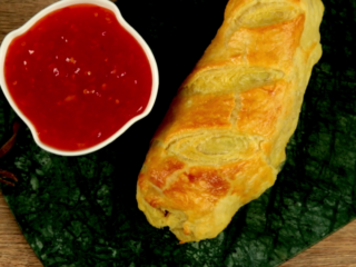 Puff Pastry Sausage Rolls -