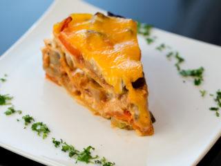 Vegetarian Crepe Lasagna -