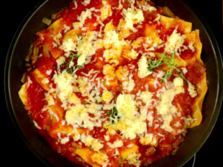 Quick and Easy Lasagna -
