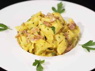 Bacon and Cheddar Tortellini -