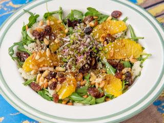 Spinach Pasta Salad -