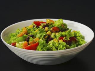 Summer Salad with Creamy Avocado Pesto -