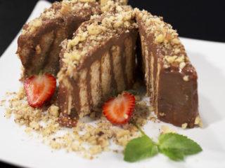 Nutella Biscuit Cake