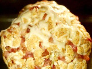 Bacon Filled Whole Roasted Cauliflower -