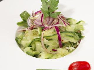 Cucumber and Onion Salad -
