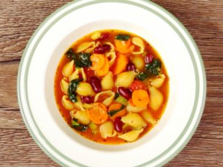 Pasta and Vegetable Soup -
