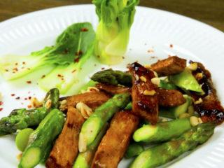Pork Fillet with Asparagus -