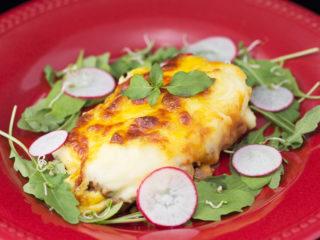 Lamb Mince and Mashed Potato Cheesy Casserole -