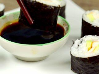Surimi Sushi Rolls -