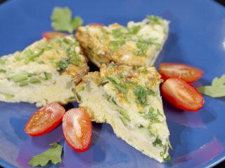 Zucchini and Parmesan Frittata -