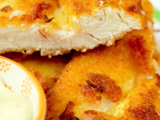 Bacon Crusted Chicken Breast -