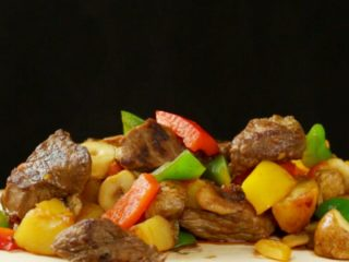 Stir-Fried Beef and Vegetables -