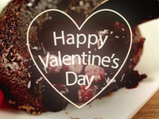 Valentine's Day Chocolate Soufflés -